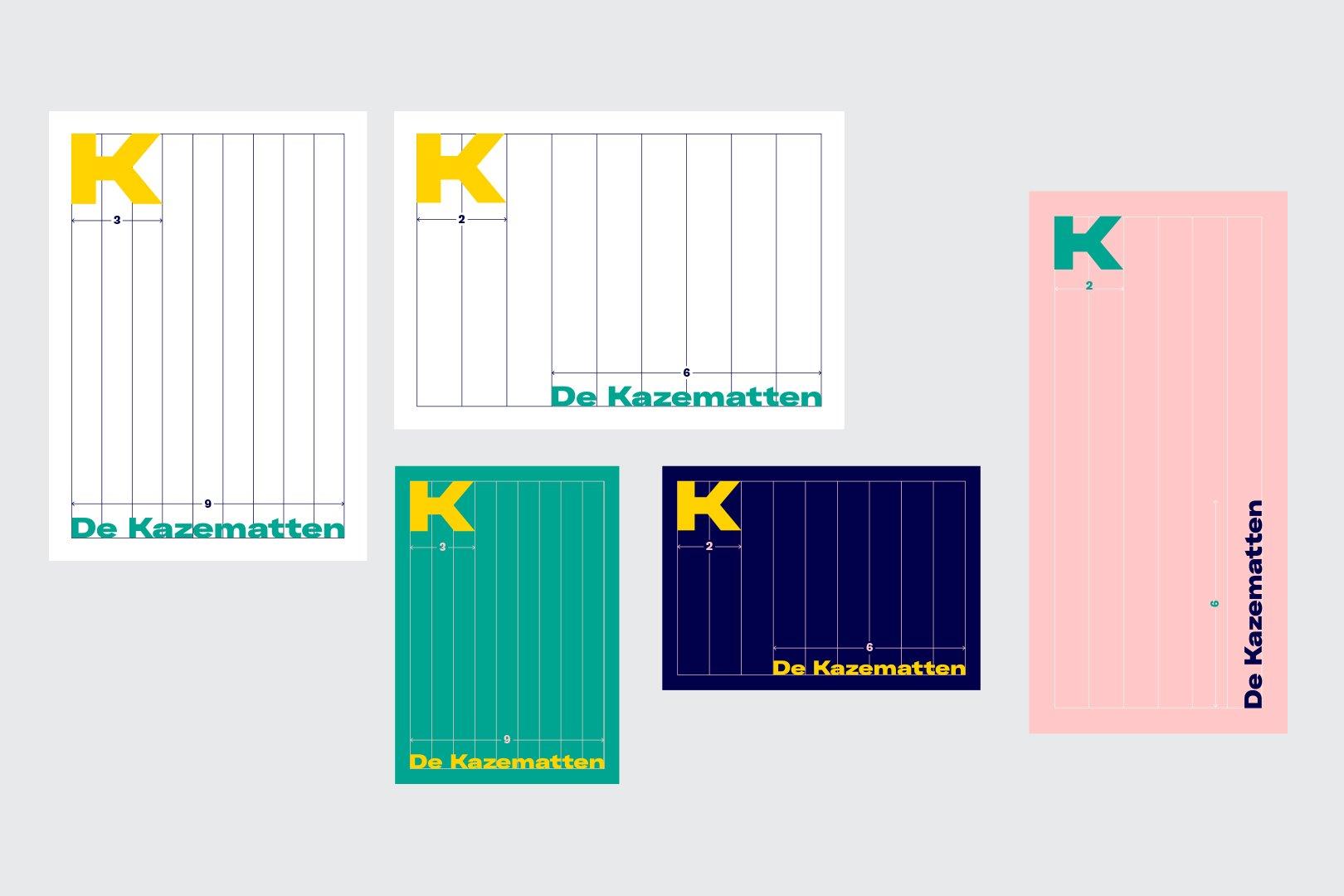Kazematten logo grafisch ontwerp huisstijl